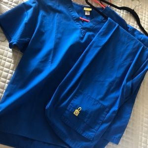 Wink brand top and bottom scrubs